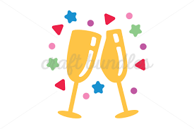 wine glass svg celebration svg cut files page 4