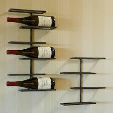 metal wall wine rack wall shelves