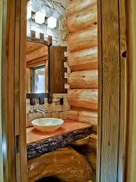 rustic cabin bathroom ideas 76 best log home bathrooms images on bathroom ideas