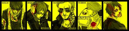 Persona 4 Kink Meme - persona 4 guys by curenio on deviantart