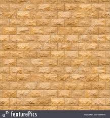 texture seamless texture of yellow brick wall stock