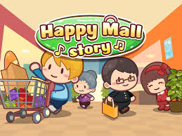 happy mall story mod apk v1 1 2 unlimited golds and crystals