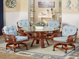 kitchen table with caster chairs tropical dining room sets latest home furnishing styles
