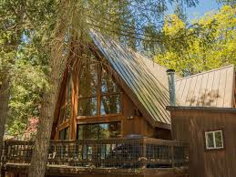 a frame chalet beautiful wooden two story a frame cabin on river wawona yosemite