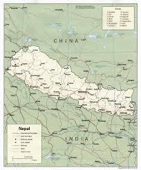 Himalayas On World Map by Download Free Nepal Himalaya Maps