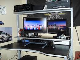 Gaming Computer Desks Antique Gaming Setups Then Home Pc Station Computer Setup Computer