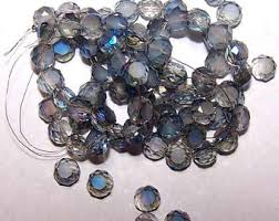 crystal bead necklace images Crystal bead jewelry etsy jpg