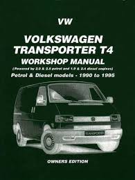 transporter t4 1990 1995 workshop manual