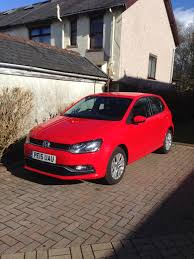 volkswagen red car the car spotter drives 2015 volkswagen polo se bluemotion the