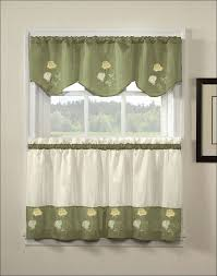 Kitchen Valance Curtains by Kitchen Sheer Kitchen Curtains Grey Kitchen Valance Grommet