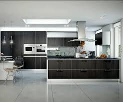 Veneer For Kitchen Cabinets Kitchen Natural Oak Veneer And Slim Worktops Contemporary