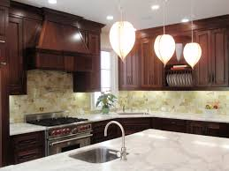 Light Brown Cabinets by Countertops Calacatta Marble Countertops With Stone Tile
