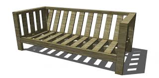 Plans For Wood Deck Chairs by Free Diy Furniture Plans To Build A Crate U0026 Barrel Inspired Reef