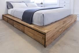 Reclaimed Wood Bed Frames Bed Frames Wood Platform Bed King Barnwood Beds Wood Bed Designs