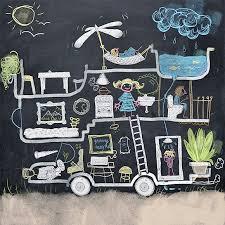 6 playful art walls for kids u0027 rooms handmade charlotte
