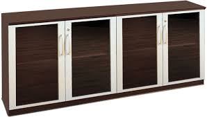 office cabinets with doors credenza cabinet with glass doors modern office cabinet