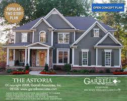 Italianate House Plans Master Down House Plans By Garrell Associates Inc