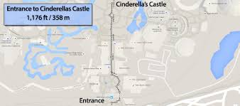 Map Of Magic Kingdom Orlando by Walking Distance At The Magic Kingdom Walt Disney World