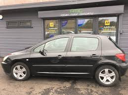 black peugeot used black peugeot 307 for sale swansea
