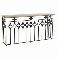 Iron Console Table Wrought Iron Console Tables Ebay