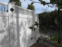fence options fence ideas for backyard design u fencing fencing