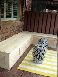 large cedar storage bench with cushion top 2054 outdoor for ideas