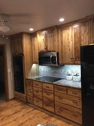 knotty hickory cabinets kitchen country kitchen cabinets unpainted cabinets rustic hickory trim