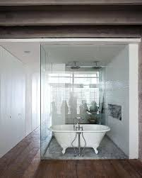Open Bathroom Design by Polished Concrete Floor Bathroom U2013 Rozel Co