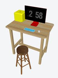 file standing desk with stool jpeg wikimedia commons