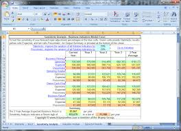 Business Valuation Excel Template 28 Business Valuation Template Xls Excel Business Valuation