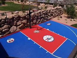 backyard basketball court flooring gym floors and outdoor courts installations for commercial