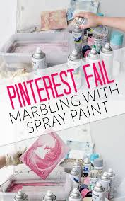 marbling with spray paint project fail polished habitat