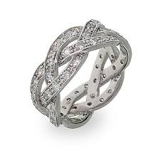 braided band promise ring with cz stones s addiction
