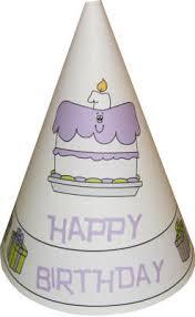paper birthday hat