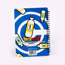 capsule corp notebook home decor