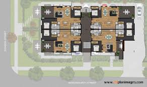 image gallery 2d floor plan images transport overhead view 2d colour site plan using our products for a development project in norman park brisbane