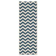 Navy Blue Runner Rug Buy Navy Runner Rug From Bed Bath U0026 Beyond