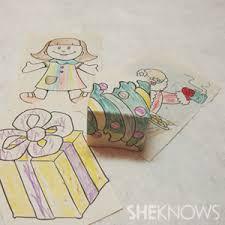 creative wrap children can make