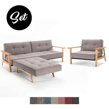Esszimmer Sessel G Stig Splitback Frej Sofa Und Sessel Günstig Im Set Kaufen Buerado