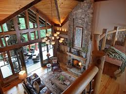 rustic great room with hardwood floors by joe folsom zillow digs