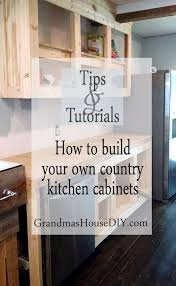 How To Antique Kitchen Cabinets Best 25 Building Cabinets Ideas On Pinterest Clever Kitchen