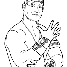free printable wwe coloring pages for kids coloring pages john