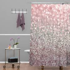 Gray And Pink Curtains Pink Shower Curtain Yodersmart Home Smart Inspiration