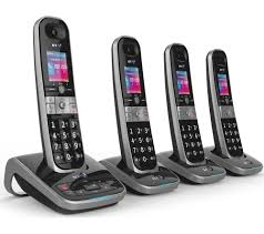 buy bt 8610 cordless phone with answering machine quad handsets