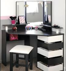 makeup vanity table without mirror small makeup table small space dressing table and beauty station