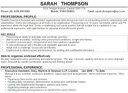 Personal Statement Sample For Resume by Personal Statement Example Good