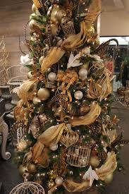 black and gold tree blackchristmastree