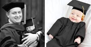 infant graduation cap and gown the most adorable ba graduation cap and gown you seen