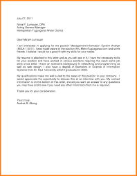 cover letter for any vacant position sample cover letter templates