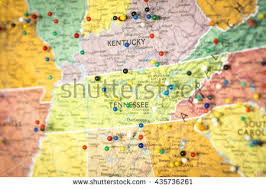 map ky and tn kentucky road map stock images royalty free images vectors